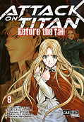 Frontcover Attack on Titan - Before the fall 8