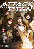 Frontcover Attack on Titan 21
