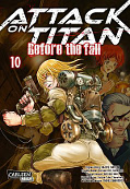 Frontcover Attack on Titan - Before the fall 10