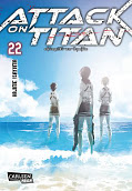 Frontcover Attack on Titan 22