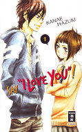 "Frontcover Say ""I Love You!"" 1"
