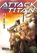 Frontcover Attack on Titan 23