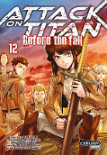 Frontcover Attack on Titan - Before the fall 12