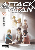 Frontcover Attack on Titan 24