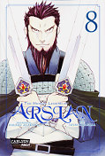 Frontcover The Heroic Legend of Arslan 8