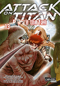 Frontcover Attack on Titan - Before the fall 13