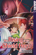 Frontcover The Rising of the Shield Hero 10