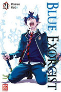 Frontcover Blue Exorcist 21