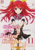 Frontcover Chivalry of a Failed Knight 11