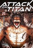 Frontcover Attack on Titan 25