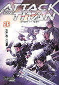 Frontcover Attack on Titan 26