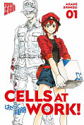 Frontcover Cells at Work 1