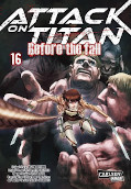 Frontcover Attack on Titan - Before the fall 16