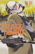 Frontcover Golden Kamuy 4