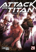 Frontcover Attack on Titan 28