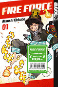 Frontcover Fire Force 1
