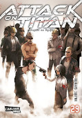 Frontcover Attack on Titan 29