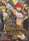 Frontcover Magus of the Library 3