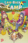 Frontcover Laid-back Camp 1
