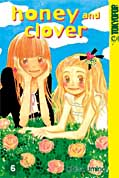 Frontcover Honey and Clover 6
