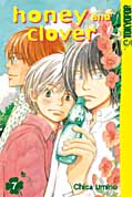 Frontcover Honey and Clover 7