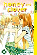Frontcover Honey and Clover 8