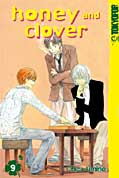 Frontcover Honey and Clover 9