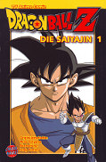 Frontcover Dragon Ball Z - Die Saiyajin Anime Comic 1
