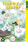 Frontcover Honey and Clover 10