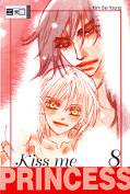 Frontcover Kiss me Princess 8