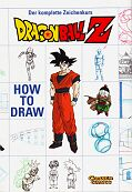 Frontcover How to draw Dragon Ball Z 1