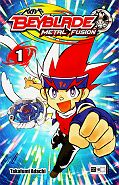 Frontcover Beyblade: Metal Fusion 1