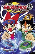 Frontcover Beyblade: Metal Fusion 5