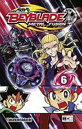 Frontcover Beyblade: Metal Fusion 6