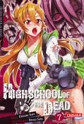 Frontcover Highschool of the Dead 7