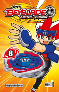 Frontcover Beyblade: Metal Fusion 8