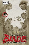 Frontcover Blade of the Immortal 27