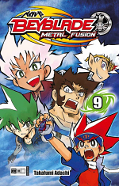 Frontcover Beyblade: Metal Fusion 9