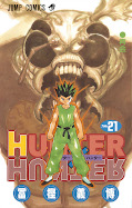 Japanisches Cover Hunter X Hunter 21