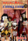 japcover Fairy Tail 26